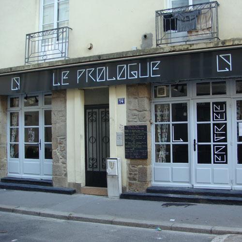 Bienvenue au Restaurant Le Prologue au coeur de Nantes.